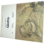 Vintage Book, The Complete Paintings of Giotto, Edi Baccheschi, 1966