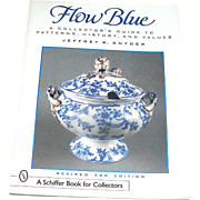 Vintage book, Flow Blue, A Collector's Guide, 3rd edition, Snyder, 1999