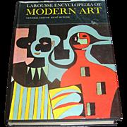 Vintage Book, Larousse Encyclopedia Of Modern Art, Rene Huyghe,