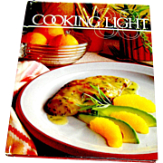 Vintage cookbook, Cooking Light, Oxmoor Press, 1987
