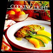 Vintage cookbook, Cooking Light, Oxmoor Press, 1987