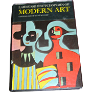 Vintage Book Larouse Encyclopedia of Modern Art