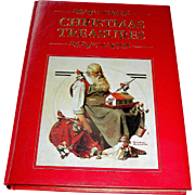 Vintage book Christmas Treasures, stories, poems customs