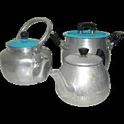 Vintage Children's aluminum cookware toys