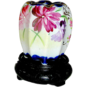 Hand Painted Famille Rose Japanese toothpick, signed