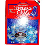 Vintage book, The collector's encyclopedia of depression glass, florence, 1984