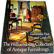 Book:Catalogue, Cataloque:colonial furniture
