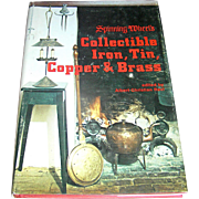 Vintage book, Collectible Iron, Tin, Christian Revi, Copper, & Brass, Castle Books, 1974