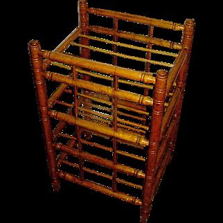 Antique primitive, maplewood, handturneded,  stand or pie rack, 19th c