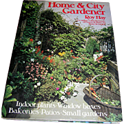 Vintage book, Home & City Gardener by Roy Hay, 1971