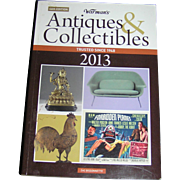 Vintage Book, Warman's Antiques & Collectobles, 2018