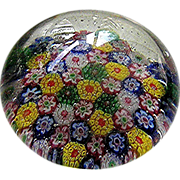 Old Small Millefiori paperweight in excellent condition