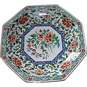 Oriental Charger, China Garden Pattern, by Takahashi Imports