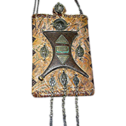 Shaman's Bag by Sharona Gamliel made in the 1990's