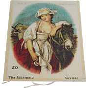 B.D.V. Cigarettes  #20 The Milkmaid, Greuse, Cigarette Silk
