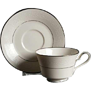 Noritake Marseille Footed Cup & Saucer