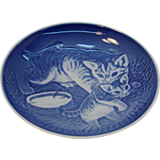 Mother Cat & Kitten 1971 Bing & Grondahl Mother's Day Plate
