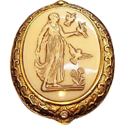 Helen Of Troy Edgar Berebi Limited Edition Cameo Style Brooch