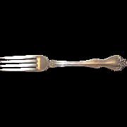 Vintage Westmoreland Sterling Silver Dinner Fork Martha and George Pattern
