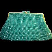 1960s vintage Coppola e Toppo glass crystal bead Purse
