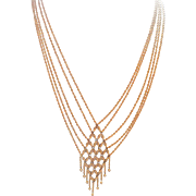 14k Michael Anthony Bib Gypsy Necklace