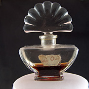 Vintage Mais Oui by Bourjois Perfume Bottle - some perfume still in bottle!