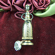 Vintage Hans Teppich 1950s Brass Figurine of Biblical Sarah - Israel Judaica