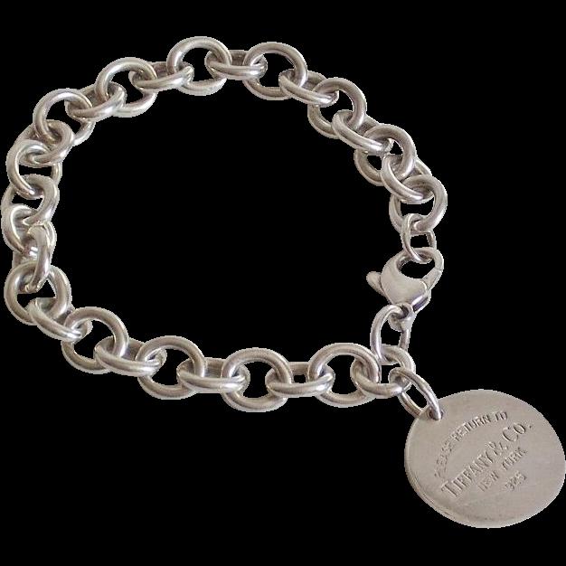 Vintage Return To Tiffany Co Sterling Silver Bracelet Ells Fine Collectibles Ruby Lane