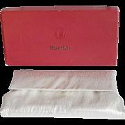 Lady Buxton Silver Lamme Clutch Purse