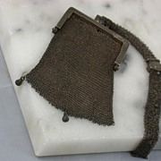 Victorian Sterling Mesh Purse