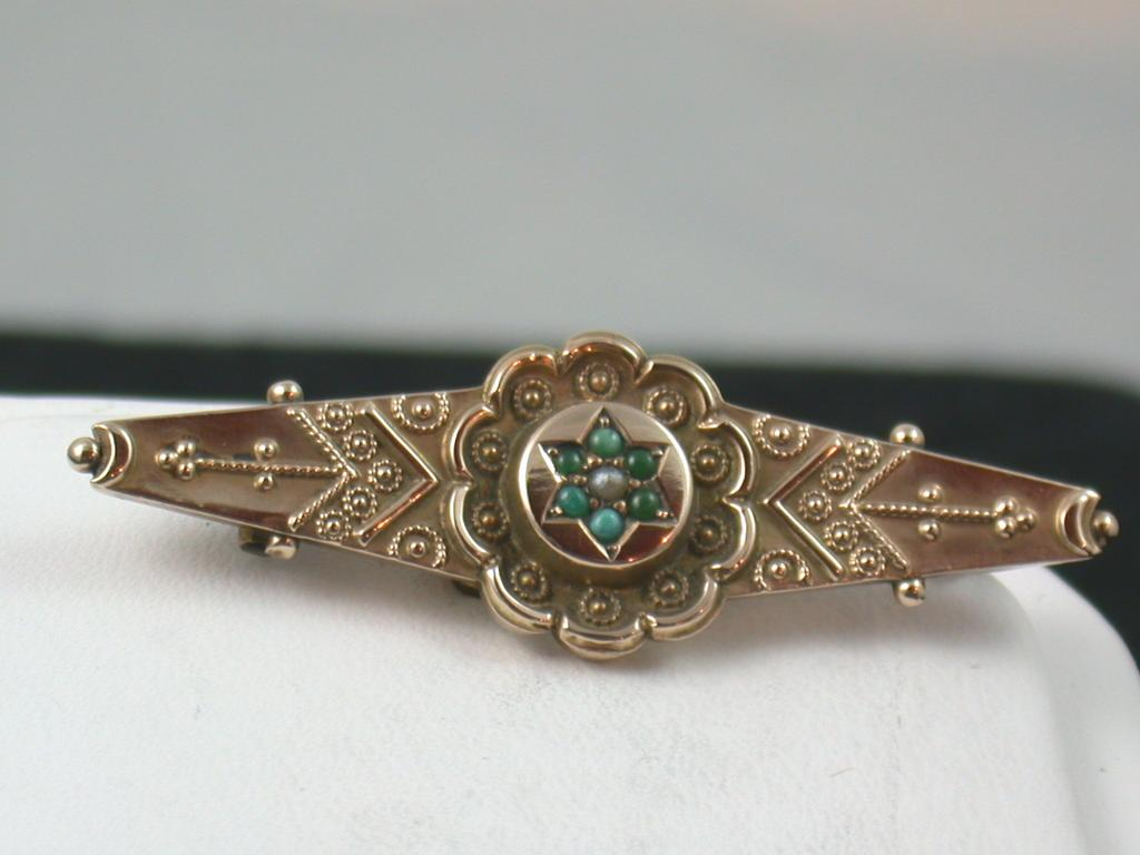 9c victorian turquoise brooch birmingham from for Sell jewelry birmingham al