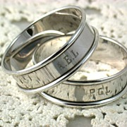 Webster Sterling Napkin Rings