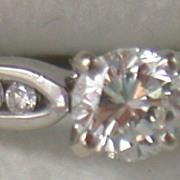 Estate 14K .65 CT Diamond Ring
