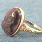 10K Cameo Ring