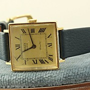 18K Ladies Rolex 1600 Cellini Watch