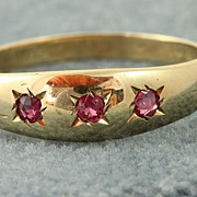 9 C Birmingham Ruby Gypsy Ring