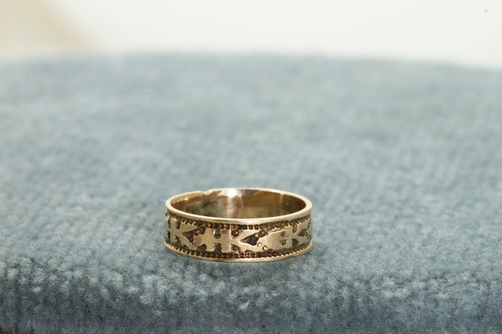 Early 14K Baby Ring