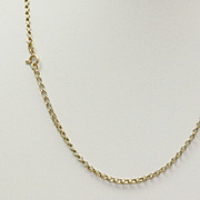 "18"" Estate 14K Open Wheat Chain"