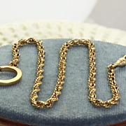 Vintage 14K Watch Chain