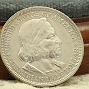 Pristine 1893 Columbia Exposition  Half Dollar