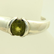 Kabana Sterling 0.85 CT Tourmaline Ring