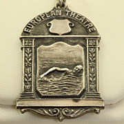 1947 Sterling Allied European Theatre Diving Medal