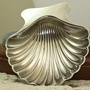 Estate Tiffany Sterling Shell Dish