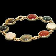Estate 14 K Jost Scarab Bracelet