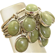 Sterling Estate Jasper Stack Ring Carmen Breckmann Taxco, Mexico