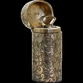 Sterling London Sampson & Mordan 1884 Perfume
