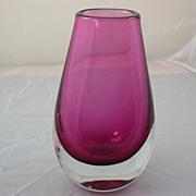 Orrefors Art Glass Vase