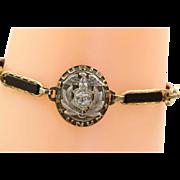US Marine Gold Filled Keepsake Bracelet @1940