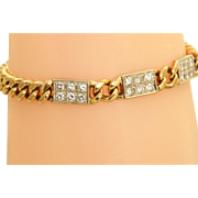 Estate 18 K Laykin et Cie 1.8 CT Diamond Bracelet