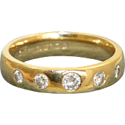 Estate 18 K Diamond Band from London